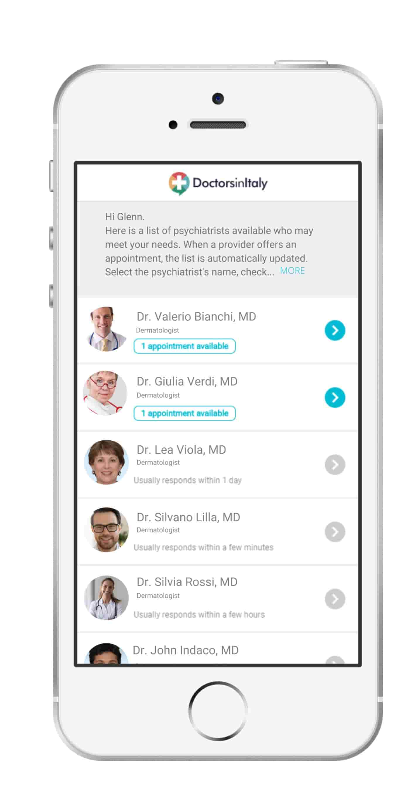 list of available online dermatologists