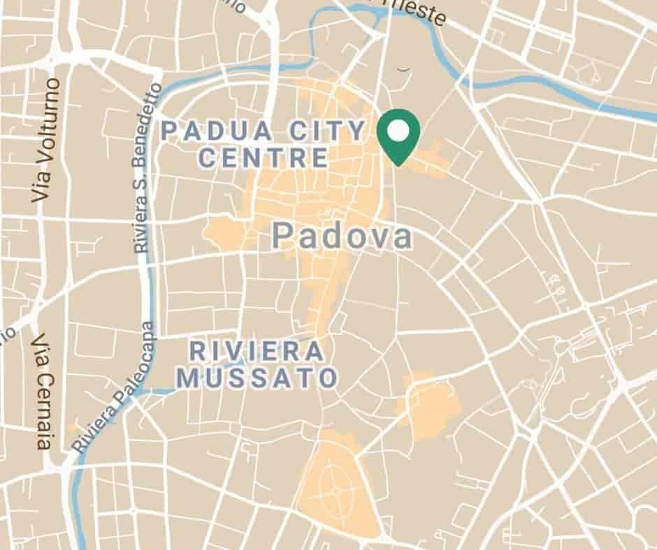 English speaking eye care center Padua